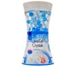Pan Aroma Lava Gel Crystals Cool Linen gelový osvěžovač vzduchu 150 g