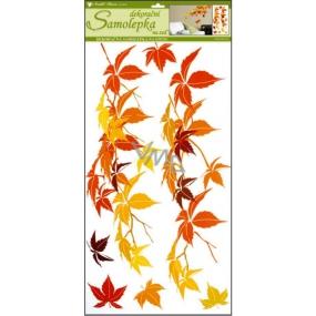 Room Decor Samolepky na zeď listí podzimní 69 x 32 cm