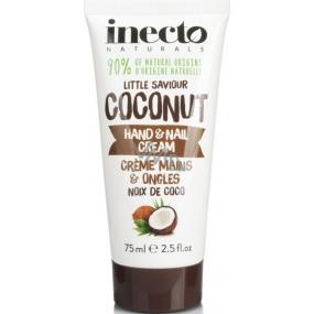 Inecto Naturals Coconut krém na ruce a nehty 75 ml