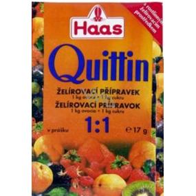 Haas Quittin 1:1 želírovací přípravek 17 g