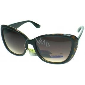 Nac New Age kategorie 3 černo hnědé sluneční brýle 023995