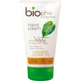 BioPha Organic Argan Oil krém na ruce 98% přírodních složek 150 ml