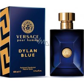 Versace Dylan Blue parfémovaný deodorant sklo pro muže 100 ml