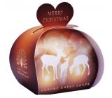 English Soby - Veselé vánoce Přírodní parfémované mýdlo s bambuckým máslem 3x20g