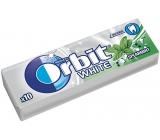 Wrigleys Orbit White Spearmint žvýkačky bez cukru dražé 10 kusů 14 g