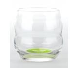 Masaru Emoto Mythos sklenice Baví mě se učit (Motýl / Listy) - zelená 0,25 l