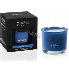 Millefiori Milano Natural Cold Water - Chladná voda Vonná svíčka hoří až 60 hodin 180 g