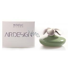 Millefiori Milano Air Design Difuzér květina nádobka pro vzlínání vůně pomocí porézní vrchní části velká zelená