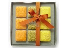 Erbario Toscano Olivový olej, Bergamot, a Verbena, Divoká Mandarinka mýdlo 9 x 30 g Luxusní kosmetická sada
