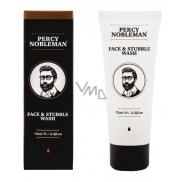 Percy Nobleman Čistící gel na obličej a vousy z kokosových ořechů a s glycerinem 75 ml