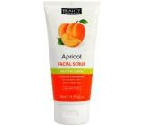 Beauty Formulas Revitalising Apricot - Meruňka obličejový peeling pro všechny typy pleti 150 ml