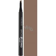 Catrice Brow Comb Pro Micro Pen pero na obočí 040 Dark Brown 1,1 ml
