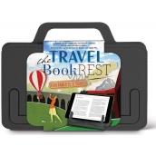 If The Travel Book Rest Cestovní držák na knihu/tablet Šedý 180 x 10 x 142 mm