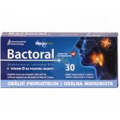 Favea Bactoral + Vitamín D orální probiotikum na podporu imunity doplněk stravy 30 tablet