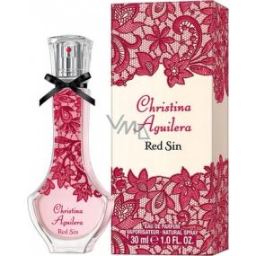 Christina Aguilera Red Sin parfémovaná voda pro ženy 30 ml