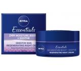 Nivea Essentials zklidňující noční krém pro citlivou pleť 50 ml