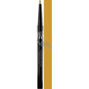 Max Factor Excess Intensity Longwear Eyeliner oční linky 01 Gold 1,8 g