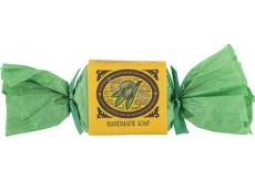 Bohemia Gifts & Cosmetics Freshly Olives ručně vyráběné toaletní mýdlo bonbon 30 g
