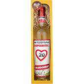 Bohemia Gifts & Cosmetics Chardonnay Vše nejlepší 20 bílé dárkové víno 750 ml