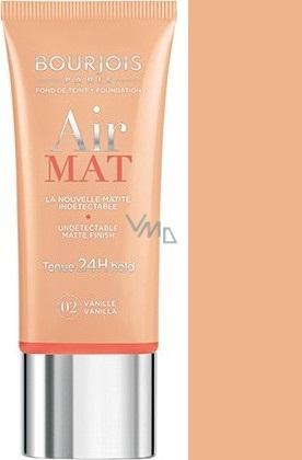Bourjois Air Mat Foundation zmatňující make-up 02 Vanilla 30 ml