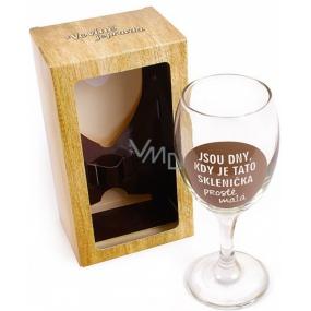 Albi Sklenička na víno Jsou dny, kdy je tato sklenička prostě malá 220 ml