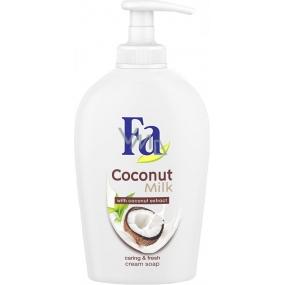 Fa Coconut Milk tekuté mýdlo dávkovač 250 ml