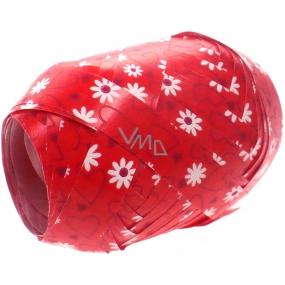 Nekupto Klubíčko Luxus červené - bílé kytičky 184 30 KB 10 m