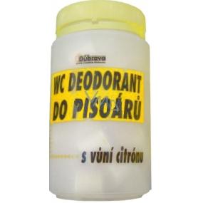 Důbrava Citron Deodorant Wc přípravek k čištění a dezodoraci pisoárů 750 g, 40 tablet