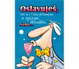 Ditipo Hrací přání Oslavuješ Kabát Žízeň