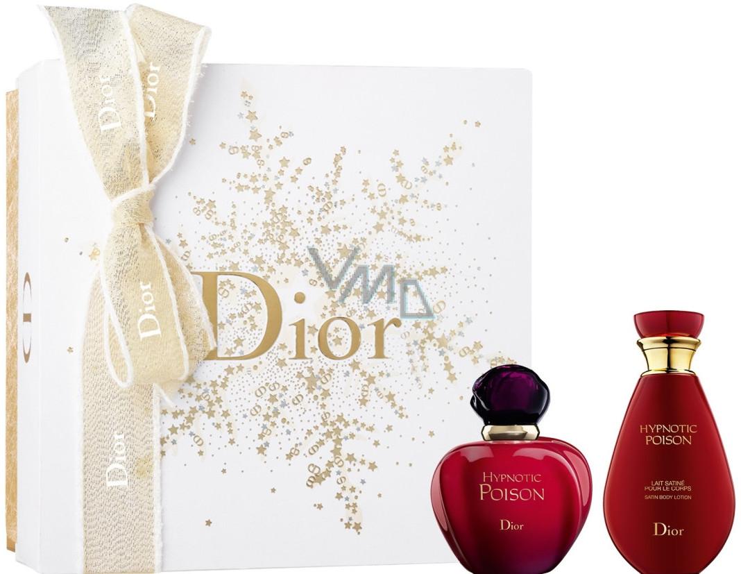 Christian Dior Hypnotic Poison toaletní voda pro ženy 50 ml + tělové mléko 50  ml, 5f5d25e4db7