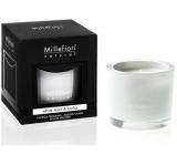 Millefiori Milano Natural White Mint & Tonka - Bílá máta a Tonkové boby Vonná svíčka hoří až 60 hodin 180 g