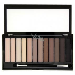 Makeup Revolution Iconic Elements paletka 12 očních stínů 14 g