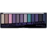 Rimmel London Magnifeyes Paleta očních stínů 008 Electric Violet Edition 14,16 g