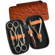 Dup Manikúra Orange koženka vzor 230402-089