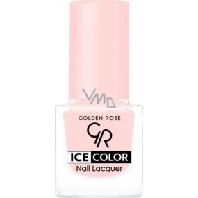 Golden Rose Ice Color Nail Lacquer lak na nehty mini 133 6 ml