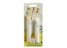 Jack N Jill BIO Buzzy Brush extra měkké náhradní hlavice pro elektrický kartáček na zuby Buzzy Brush 2 kusy