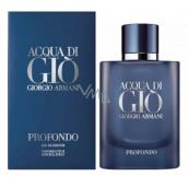 Giorgio Armani Acqua di Gioia Profondo parfémovaná voda pro muže 125 ml