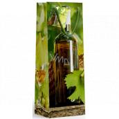 Nekupto Dárková papírová taška na láhev 10 x 33 x 9 cm Láhev vína 1902 50 KFLH