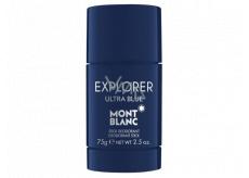 Montblanc Explorer Ultra Blue deo stick pro muže 75 g