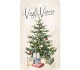 Bohemia Gifts Aromatická vonná karta Veselé Vánoce 11 x 6,3 cm