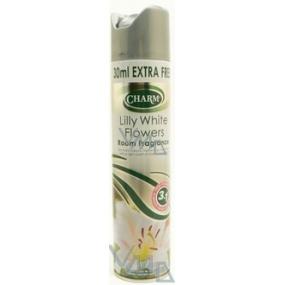 Charm Lilly White Flowers osvěžovač vzduchu 330 ml