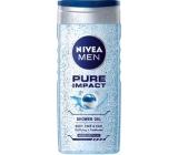 Nivea Men Pure Impact sprchový gel na tělo, tvář a vlasy 250 ml