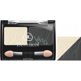 Dermacol Satin Duo Eye Shadow oční stíny 01 3 g