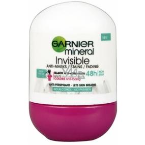Garnier Mineral Invisible New Fresh Scent 48h kuličkový antiperspirant deodorant roll-on pro ženy 50 ml