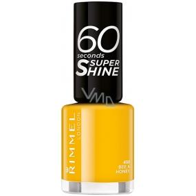 Rimmel London 60 Seconds Super Shine Nail Polish lak na nehty 458 Bee a Honey 8 ml