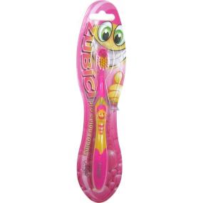 Nekupto Zubíci zubní kartáček pro děti s nápisem Andílek měkký 1 kus