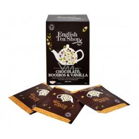 English Tea Shop Čokoláda, Rooibos a Vanilka bio čaj 20 sáčků