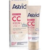 Astrid Perfect Skin CC krém vše v 1 OF 20 Light 40 ml