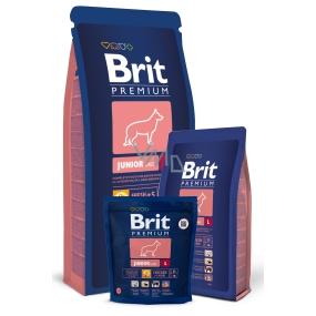 Brit Premium Junior L pro štěňata velkých plemen od 4 - 24 měsíců, 25 - 45kg 15kg Kompletní krmivo