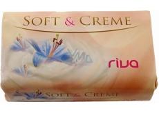 Riva Soft & Creme Gold jemné toaletní mýdlo 180 g